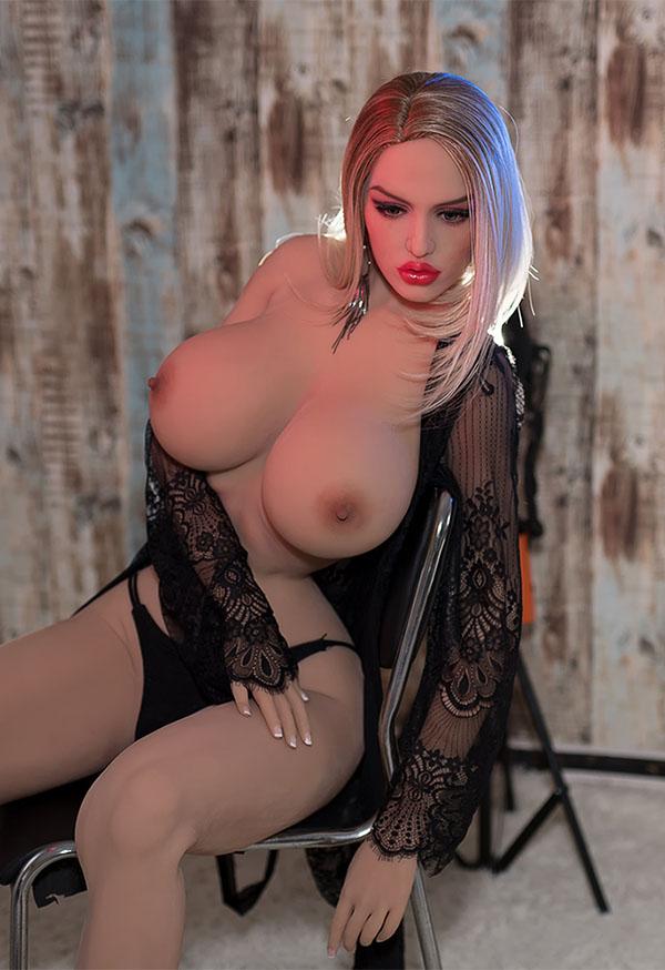 marissa 168cm j cup platinum curvy sex doll