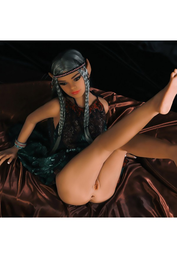 melissa 155cm a cup elf sex doll with flat chested