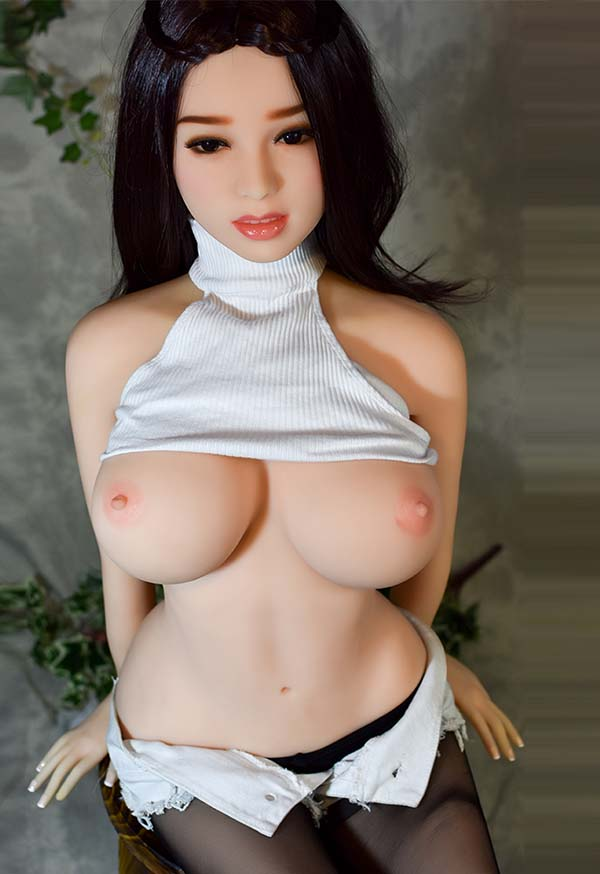 Reginy 140cm E Cup Brunette Sex Doll with Big Breast