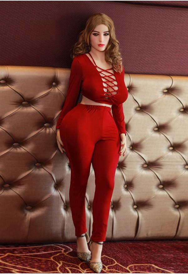 valentina 152cm g cup big curvy matured blonde sex doll