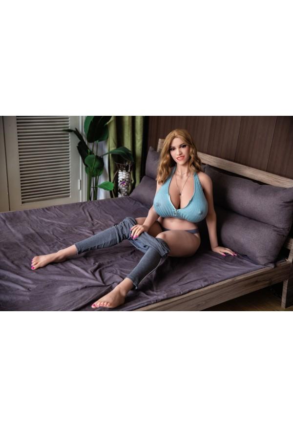 danica 158cm p cup amazing huge boobs curvy milf sex dolls
