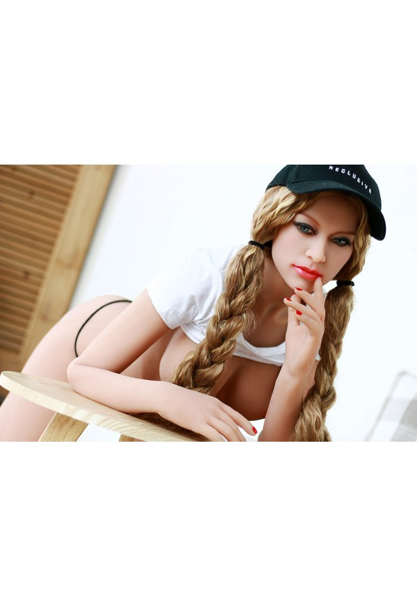 aimee blonde girl 160cm c cup small breast dolls