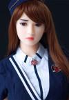 Cindy 165cm E Cup Sexy Flight Attendant Japanese Sex Doll