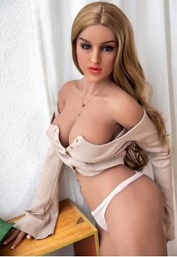 Ruchika 165cm D Cup Kinky Blonde Sex Doll
