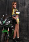 yuna 165cm d cup sexy female racer sex dolls