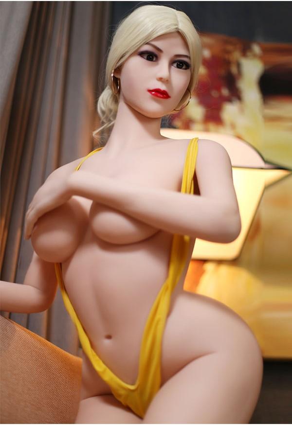 gelsey 165cm d cup kinky blonde milf sex doll