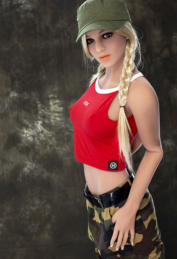 tenley 166cm c cup russian female soldier real dolls