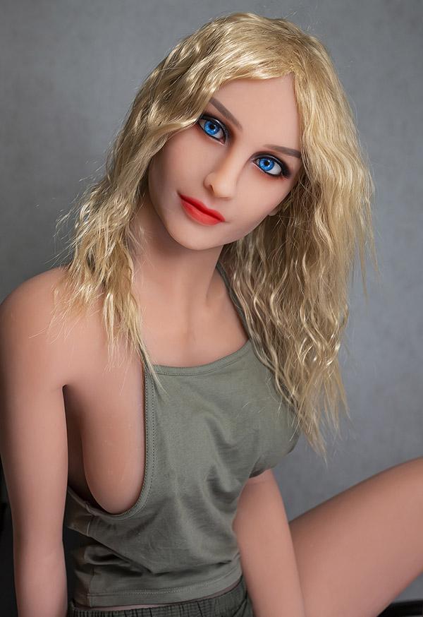 karena 166cm c cup long legs blonde female sex doll