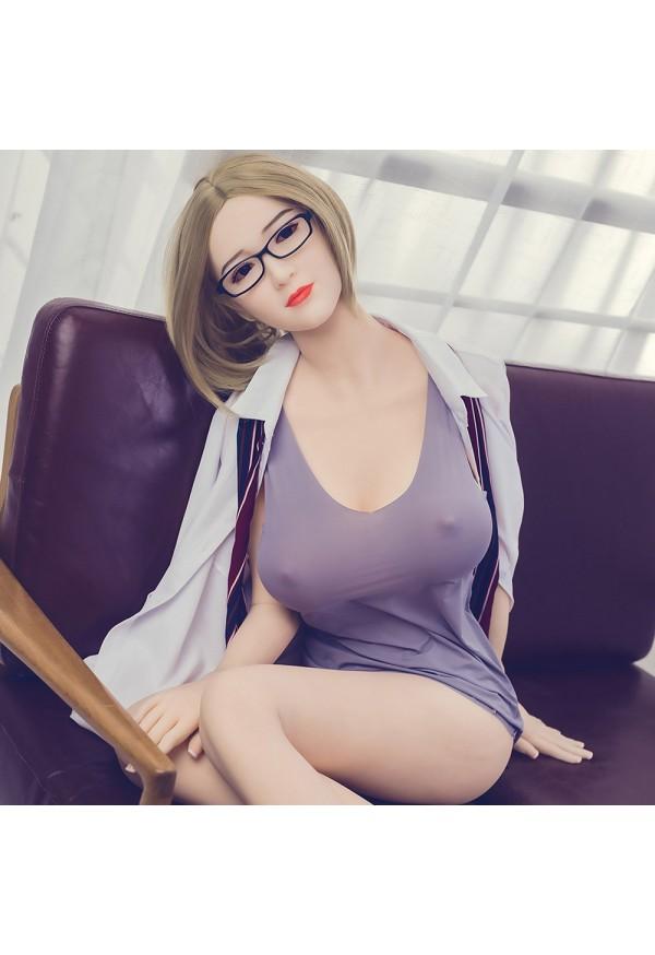 etoile 168cm g cup busty secretary blonde sex doll