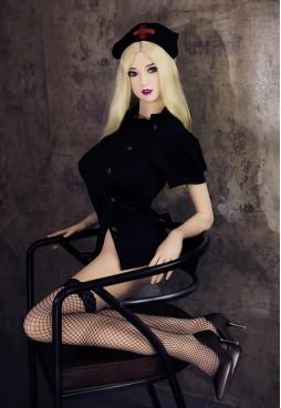 Elisa 168cm D Cup Mega Boobs Blonde Sex Doll