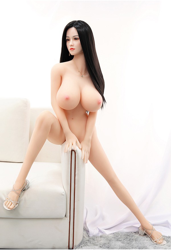 joanna 158cm e cup huge tits sex doll with realistic silicone head and tpe body