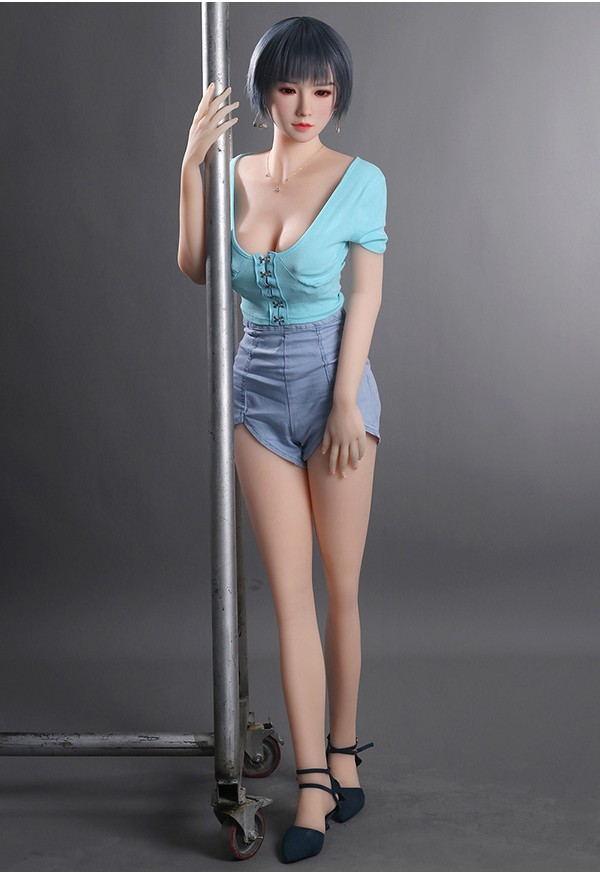 nami 158cm c cup silicone head with tpe body kinky sex doll