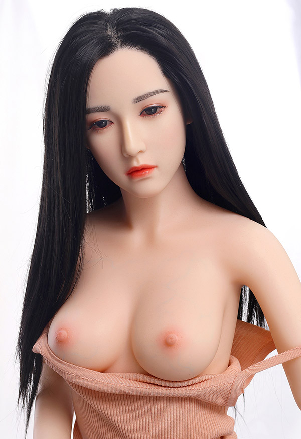 """chrissy 160cm 5' 2"""" c cup most realistic silicone sex doll"""