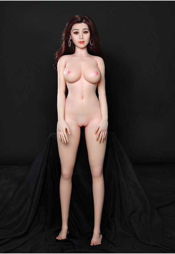 bingbing 164cm c cup celebrity sex doll with silicone head and tpe body