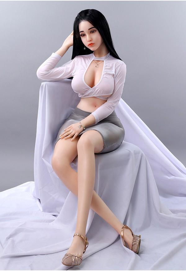 monica 164cm c cup lifelike silicone sex doll