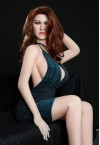 arnie 165cm d cup elegant sex doll wtih silicone head and tpe body